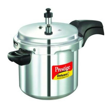 Prestige 7 String - Prestige Deluxe Plus Aluminum Pressure Cooker, 5 Liter