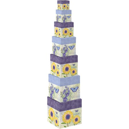 Botanical Inspiration 7 Stack Boxes Walmart Com
