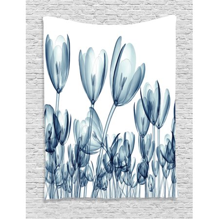 Xray Flower Decor Wall Hanging Tapestry Bunch Of