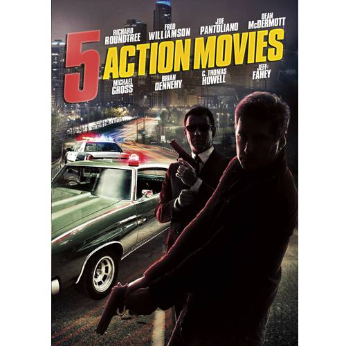 5 Action Movies: The Sweeper   The Spy Killer   Ed McBain's 87th Precinct: Ice   A Father's Revenge   One Down... by Platinum Disc