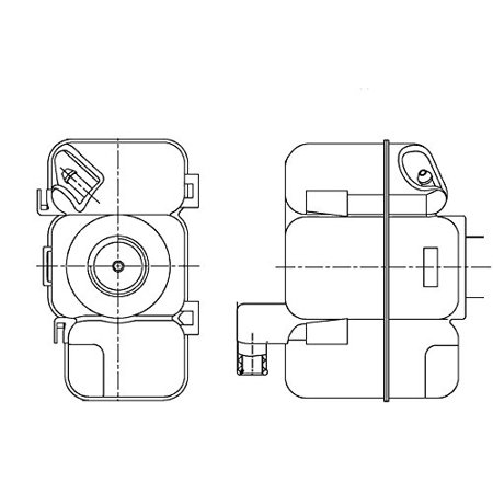 Behr Hella Service 376789741 Volvo Engine Coolant