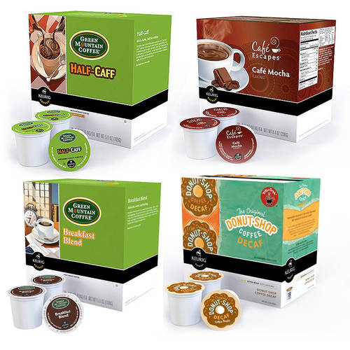 Keurig K-Cups Coffee  Value Bundle (Pick 3)