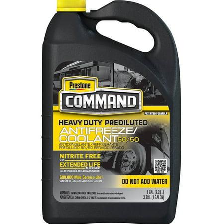 Prestone® Command® Heavy Duty Prediluted 50/50 Antifreeze/Coolant 1 gal. - 2 Coolant