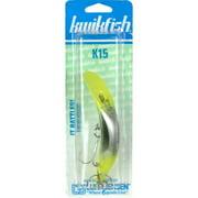 Luhr Jensen K15 Rattlin' Kwikfish, Silver / Chartreuse