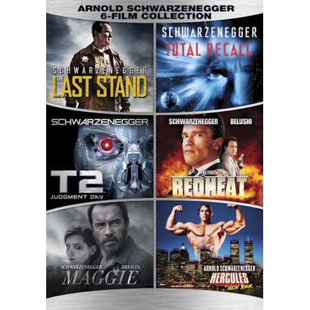 Arnold Schwarzenegger 6 Film Collection  Dvd   3Discs Ws Eng Eng Sub Span   Lions Gate