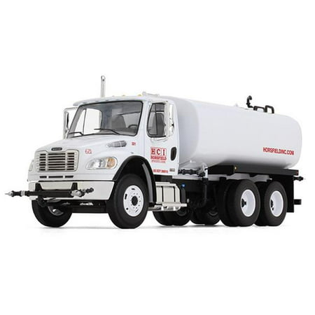 First Gear FIR10-4105 HCI Horsfield Construction - Freightliner M2-106 Water Tank Truck, 14 Years Above - image 1 of 1