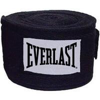 """Everlast 108"""" Boxing Handwraps, Black, 1 Pair"""