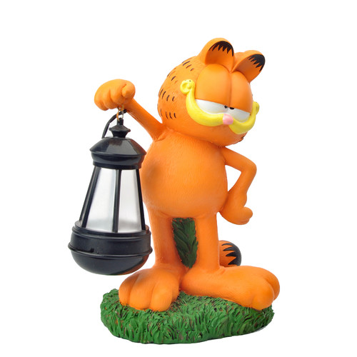 Woods International Garfield the Cat LED Lighted Statue