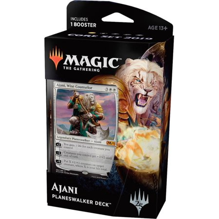 MtG Magic Core Set 2019 Ajani Planeswalker Deck
