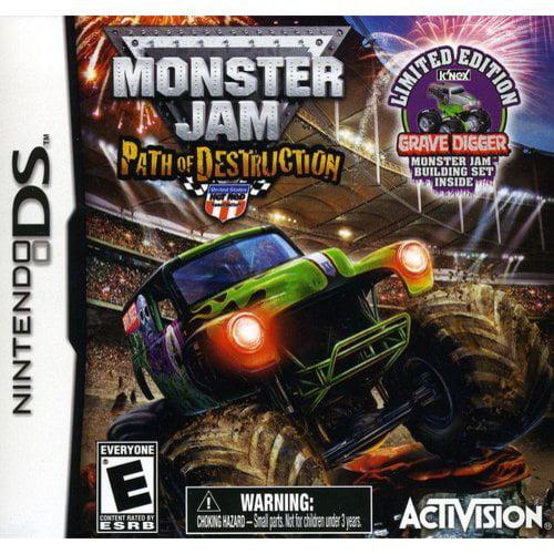 Monster Jam: Path of Destruction with K'Nex toy (DS)