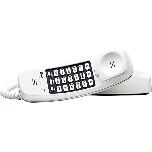 AT&T White Trimline Phone, TL-210
