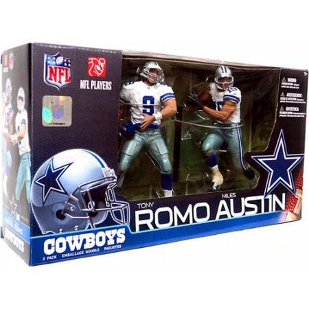 McFarlane NFL Sports Picks 2-Packs Miles Austin & Tony Romo Action Figure 2-Pack