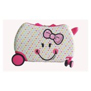 Smiley World Smiley Cute Hardside Spinner Luggage Bag