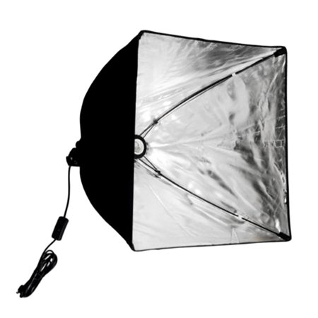 Single Softbox Kit - BSD006 Portable Dual Softbox Light Kit Soft Box Lights Photography with 8 Light Bulbs 6500K