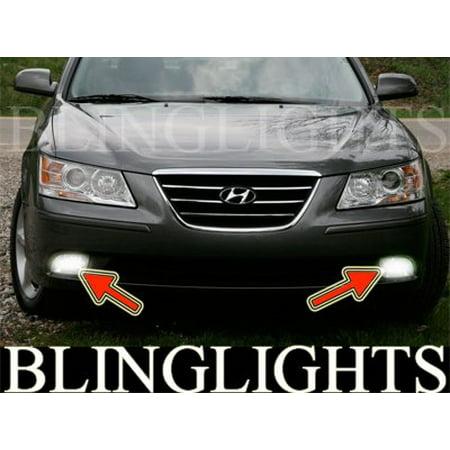 - 2009 2010 Hyundai Sonata Bumper Foglamps Driving Lights Kit