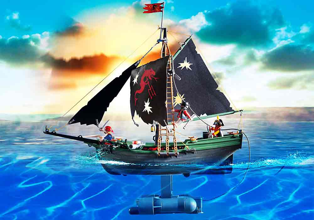 Pirates Ship with RC Underwater Motor by Playmobil