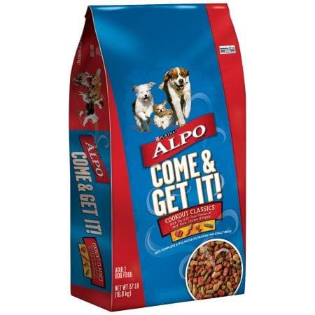 Purina ALPO Come & Get It! Cookout Classics Dry Dog Food, 37 lb