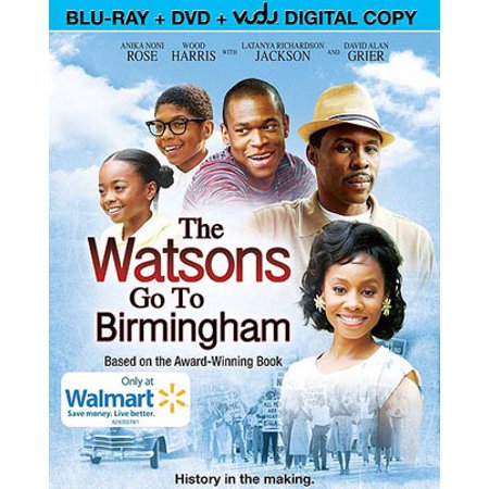 The Watsons Go To Birmingham (Blu-ray + DVD + VUDU Digital Copy) (Walmart (Kenny From The Watsons Go To Birmingham 1963)