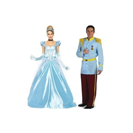 Prince Charming and Cinderella Couple Costume Kit