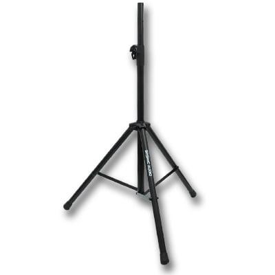 Seismic Audio 1 PAIR New TRIPOD SPEAKER STANDS PA/DJ  Stand PRO – Speaker Stands Pair