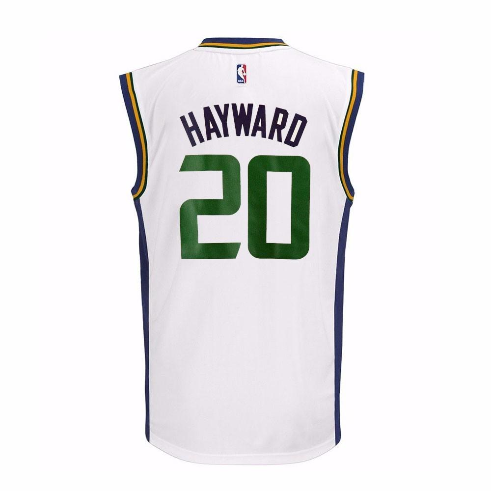 ... uk gordon hayward utah jazz nba adidas youth white official home  replica basketball jersey 71201 e1ae8 ... 7b4026edc