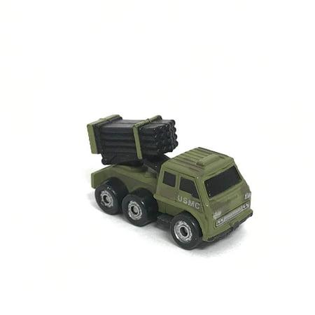 Micro Machines Miniature Car USMC Army Missile Launcher