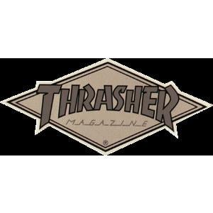 a4abe31a4772 Thrasher Magazine Diamond Assorted Colors Skate Sticker - Walmart.com