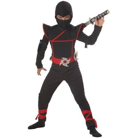 Stealth Ninja Toddler Halloween Costume, 3T-4T