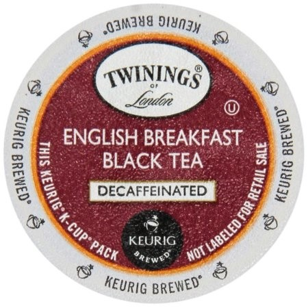 Twinings of London? Decaffeinated English Breakfast 12 ct K-Cup? Pods 1.34 oz. Box