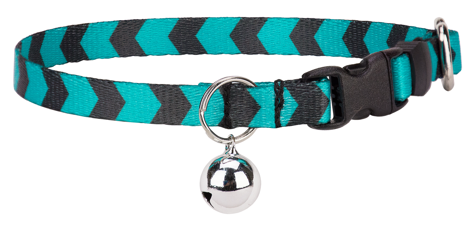 Country Brook Design Midnight Chevron Cat Collar by Country Brook Design