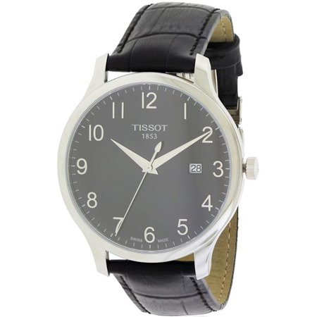 b79be037aca Tissot Tradition Leather Mens Watch T0636101605200 - image 1 of 1 ...