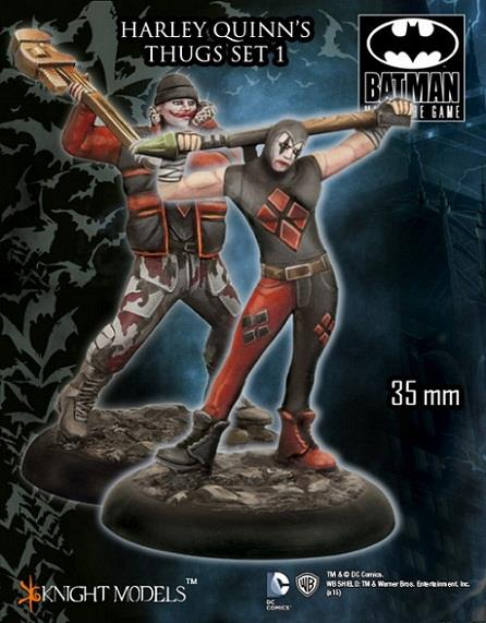 Harley Quinn's Thugs Set #1 New by Knight Models
