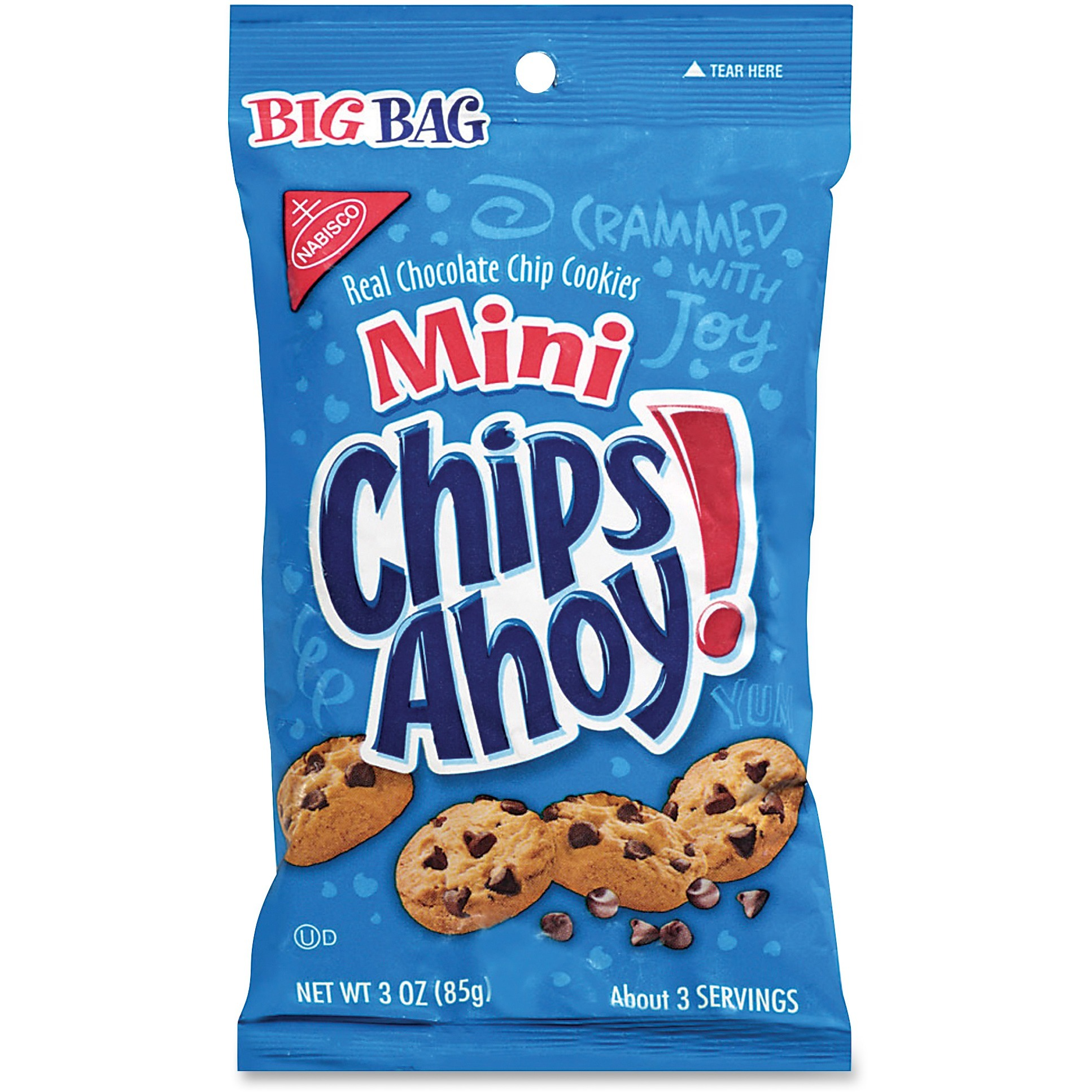 Chips Ahoy!, MDZ00679, Mini Chocolate Chip Cookies, 12 / Carton