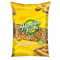 Unsalted Roasted In-Shell Peanuts, 5 lbs. (pack of 2), Hampton Farms Unsalted Roasted In-Shell Peanuts are a delightfully crunchy and healthy.., By Hampton Farms