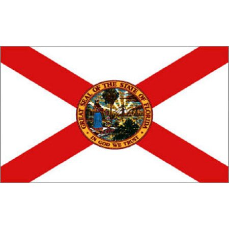 - Florida Flag State Banner FL Pennant New Indoor Outdoor 3x5 Foot