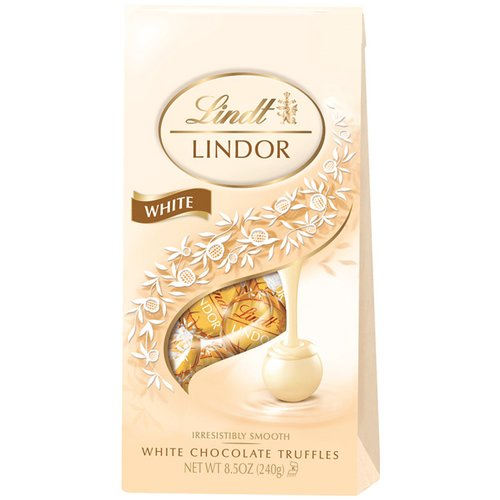 Lindt Lindor White Chocolate Truffles, 8.5 oz