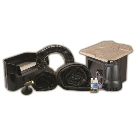 Half Off Ponds XSH0 - Compact Hybrid EPDM Pond Kit w/ 15