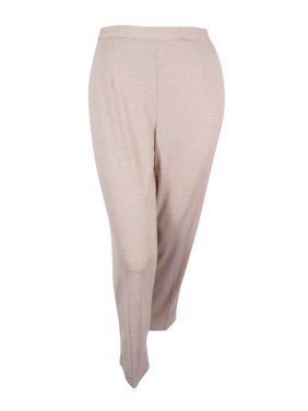 cdc2ac4e572 Product Image Alfred Dunner Women s Plus Size Acadia Pull-On Straight-Leg  Pants