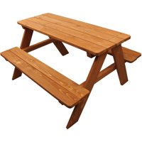 Deals on Homeware Kids Wooden Picnic Table 921