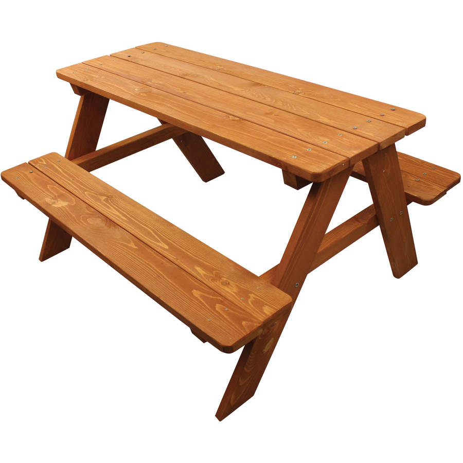 Homeware Kids Wooden Picnic Table