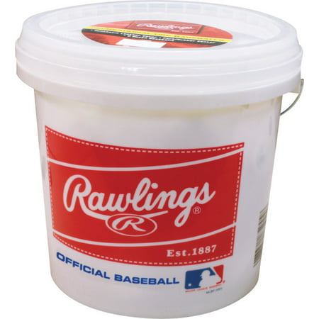 Rawlings 24 Pack Official League Recreational Grade OLB3 Baseballs in