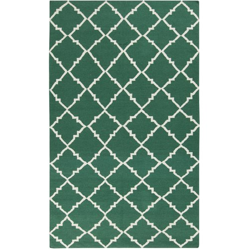 Surya Frontier Deep Sea Green Area Rug