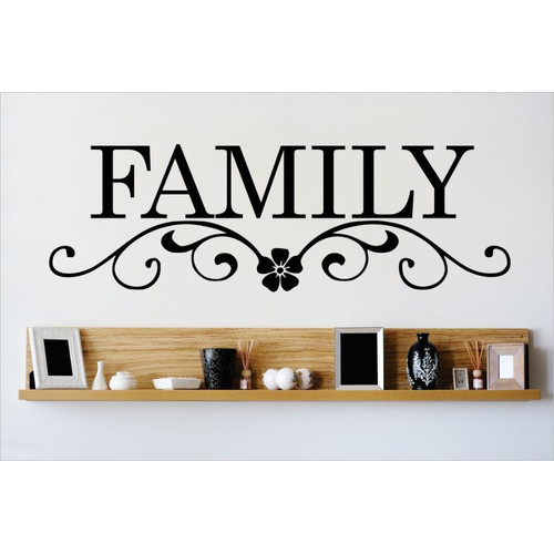 Design With Vinyl Family Wall Decal