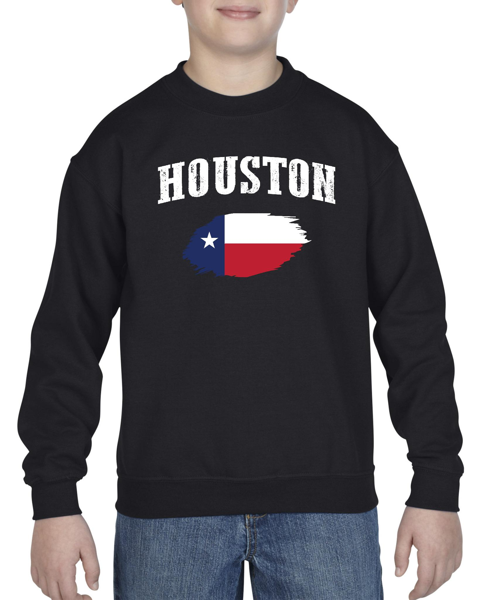 Houston Texas Youth Crewneck Sweatshirt