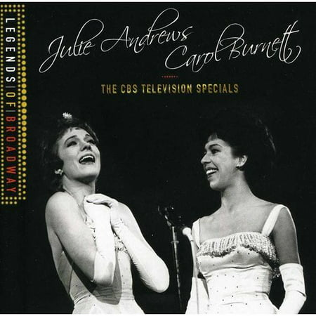 Julie Andrews   Carol Burnett  The Cbs Television