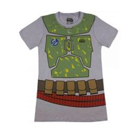 Star Wars I Am Boba Fett Mens Grey T-Shirt | M