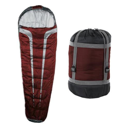 Mil-Spec Plus Mt. Timp 3 Season Sleeping Bag, Red