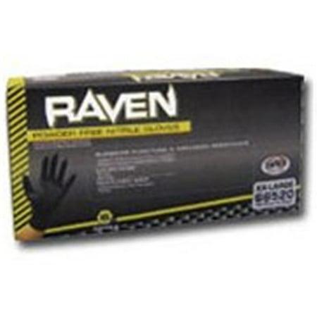 SAS Safety SAS66520 Xxl Blk Raven Pwdr Free Nitrile Gloves - image 1 of 1