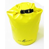 "KUFA SPORTS Roll Top Dry Bag, Yellow, 11.5"" x 19"", WBY"