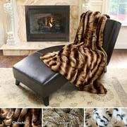 Best Home Fashion, Inc. Chinchilla Faux Fur Throw